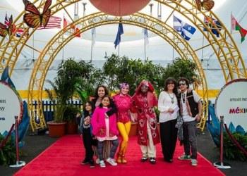 Mexicanos y sus tradiciones parte del show 'Luzia' del Cirque du Soleil 1