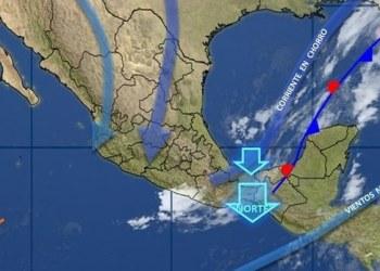 Frente frío 11 entra hoy al Noreste de México; habrá viento y lluvias 3