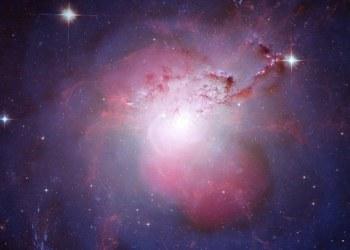 Así luce frente frío galáctico en cúmulo de galaxias de Perseo 2
