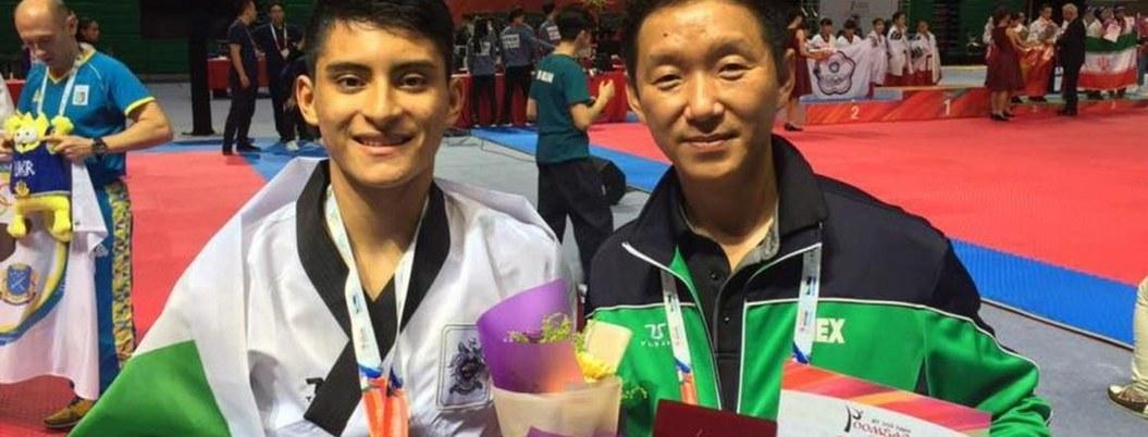 Méxicano gana oro en Mundial de Poomsae