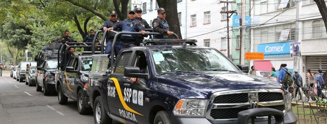 Policía de la CDMX tiene largo historial de abusos contra ciudadanos