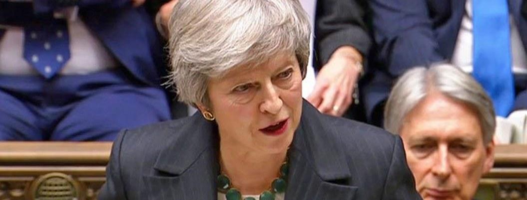 May defiende su plan del Brexit pese a rebelión interna de su partido