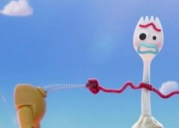 """""""Forky"""", el tenedor de juguete cobra vida en Toy Story 4; aquí el tráiler 3"""