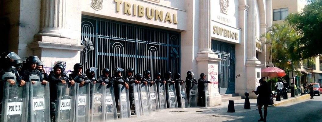 Tribunales de Guerrero con rezago en fallos de jueces y magistrados