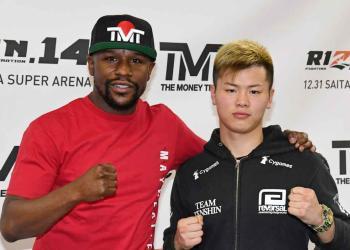 'Ninja Boy' intentará noquear a superestrella del boxeo, Mayweather 5