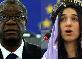 Mukwege y Murad ganan Nobel de la Paz por defender víctimas de abuso 1