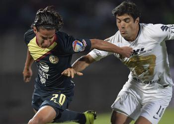 Pumas y America empatan en semifinales del Torneo Apertura 1