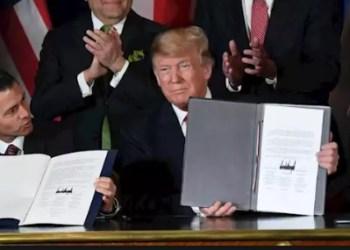 Trump urge a reemplazar TLCAN por nuevo acuerdo T-MEC 1