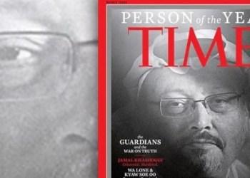 Khashoggi periodista nombrado personalidad del año por la revista Time 1