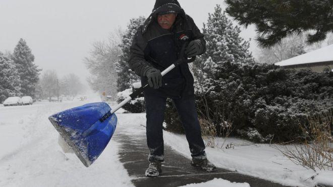 Chicago presenta temperaturas más bajas que la Antártida 1