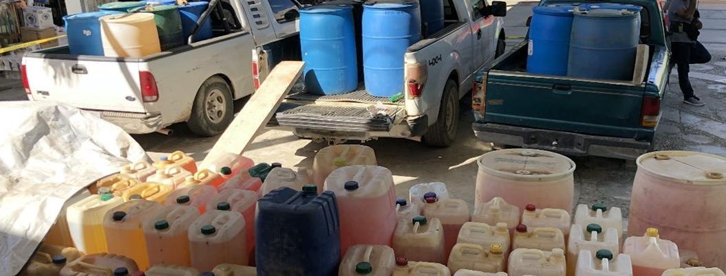 Pobladores venderán la gasolina robada que se decomisó en el Ocotito