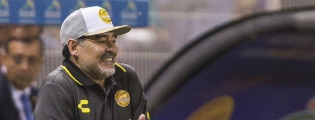 Maradona manda mensaje de despedida a la afición de Dorados