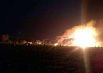 AMLO llama a todo el Gobierno a prestar auxilio por explosión de ducto 3
