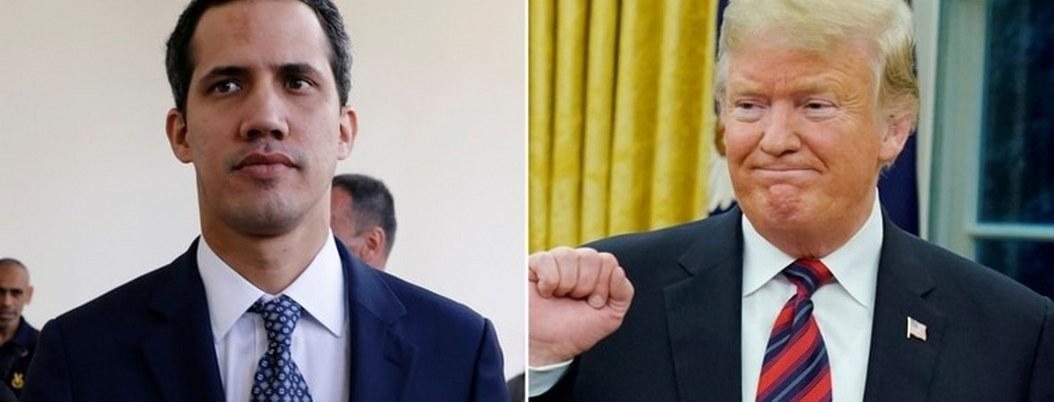 Trump respalda Guaidó como presidente de Venezuela; desconoce a Maduro