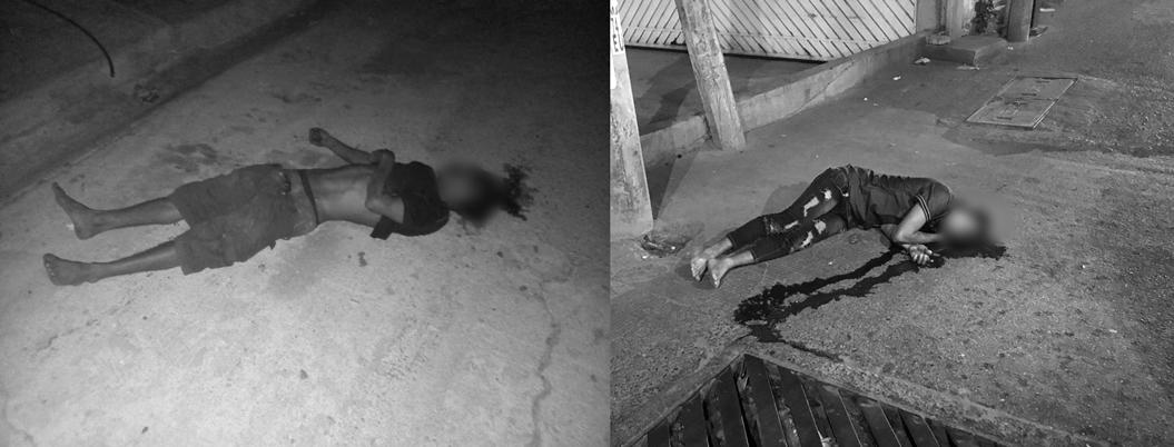 Asesinan a dos hombres en Las Cruces y la Zapata de Acapulco