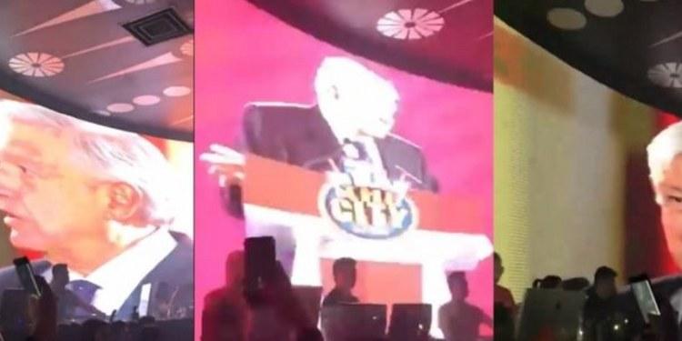 Discoteca usa discurso de AMLO para amenizar la noche| VIDEO 1