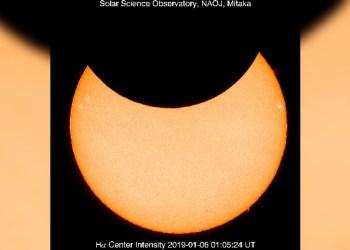 VIDEO   Ocurre en Japón primer eclipse solar del año 5