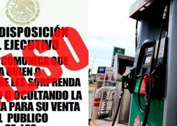 Profeco aclara falso mensaje sobre venta de gasolina en redes 2