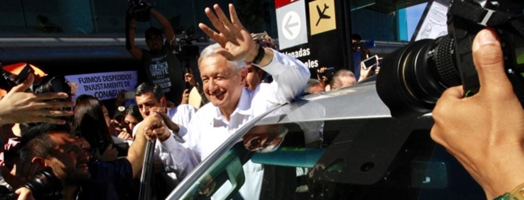 """""""Política es virtud, fortuna y suerte"""", declara AMLO"""