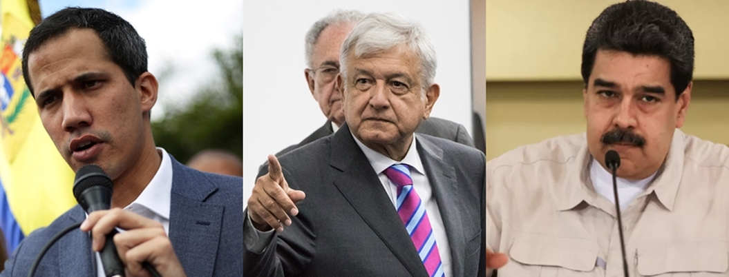 AMLO abre Palacio Nacional para que Maduro y Guaidó resuelvan diferencias
