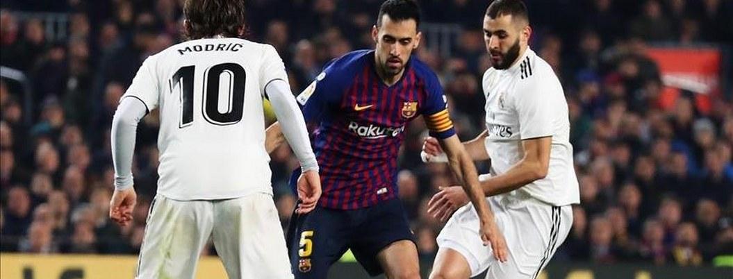 Barcelona y Real Madrid empatan en semifinales de la Copa del Rey