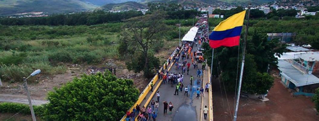 Venezuela cierra frontera con Colombia tras concierto en Cúcuta