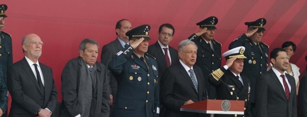 Militares agradecen formar parte de la Guardia Nacional