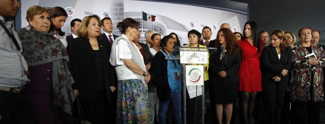 """""""Nunca pensé que iba a salir viva"""", relata Obtilia Eugenio en el Senado"""