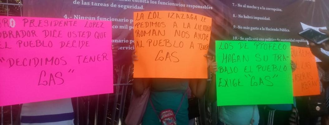 Protestan contra clausura de gaseras en Acapulco; se elevó el costo