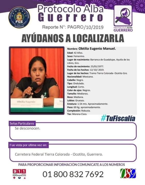 Protocolo Alba por Obtilia Eugenio Morales