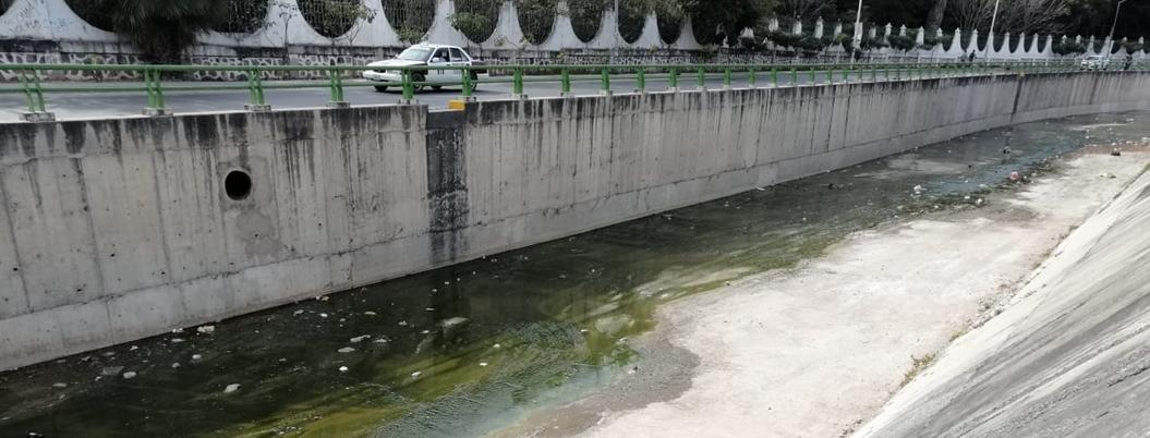 Río Huacapa es un desagüe de aguas negras y un basurero