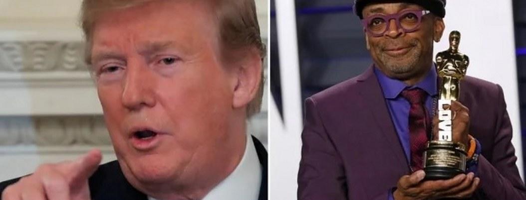 """Trump acusa a Spike Lee de ser """"racista"""""""