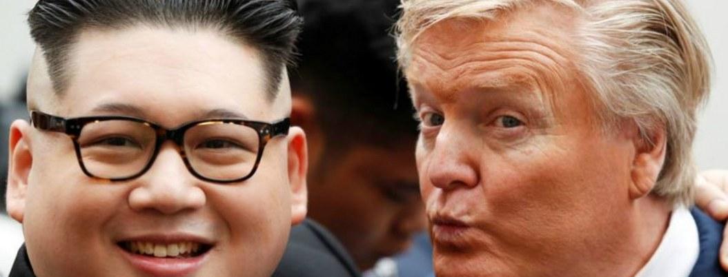 Expulsan de Vietman a doble de Kim por parodiar cumbre con Trump