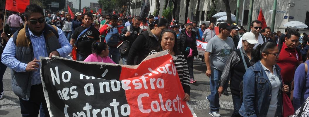 México tenía casi dos años sin que estallará una huelga