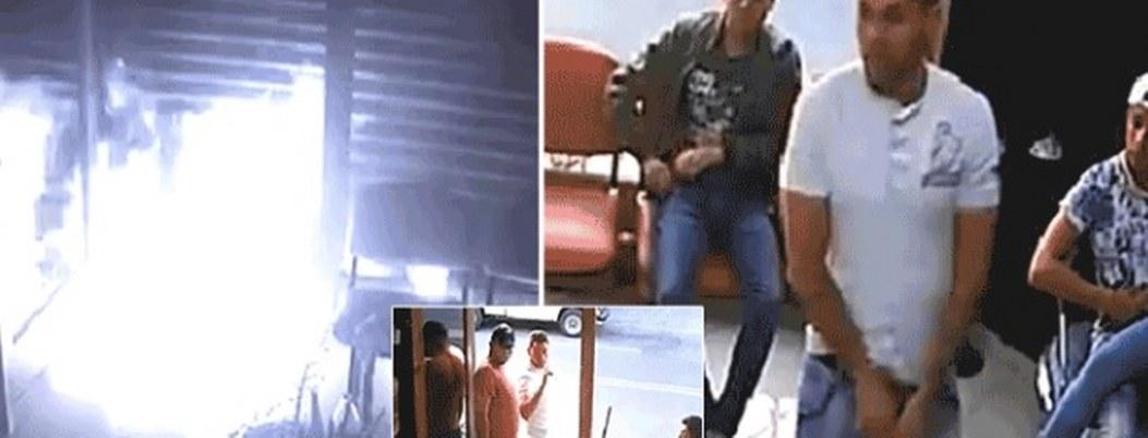 Incendian barbería en replesalia por denuncia en redes  VIDEO