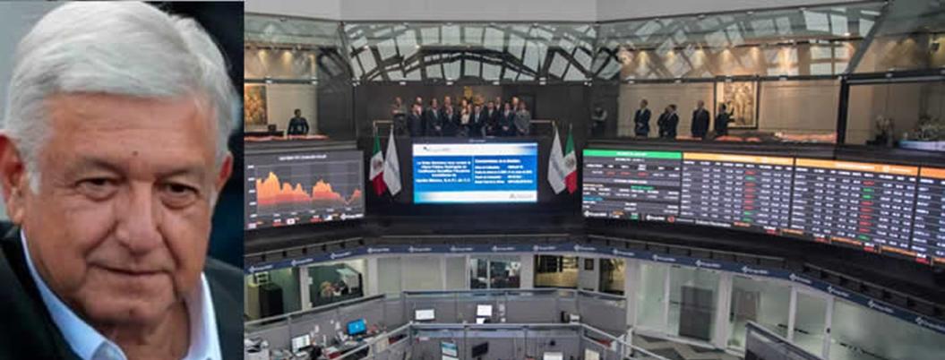 Inversores le declaran la guerra a AMLO y anuncian crisis económica