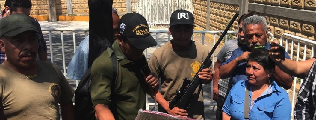 Fuerzas estatales detienen  a comandante de la CRAC en Tixtla