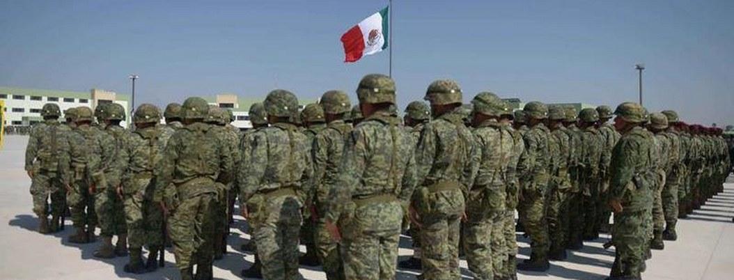 Fuerzas armadas apoyan a GN e INM en la detención de migrantes