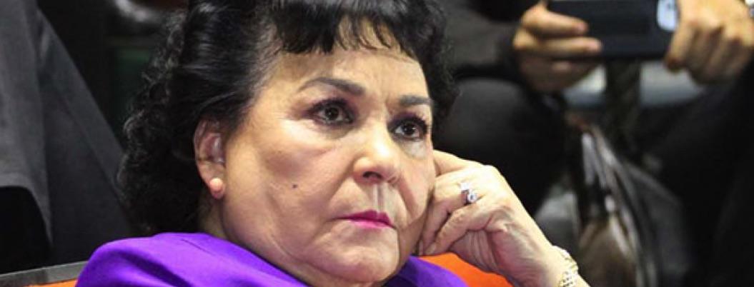 """Personas con """"VHS"""" necesitan medicina, clama Carmen Salinas"""