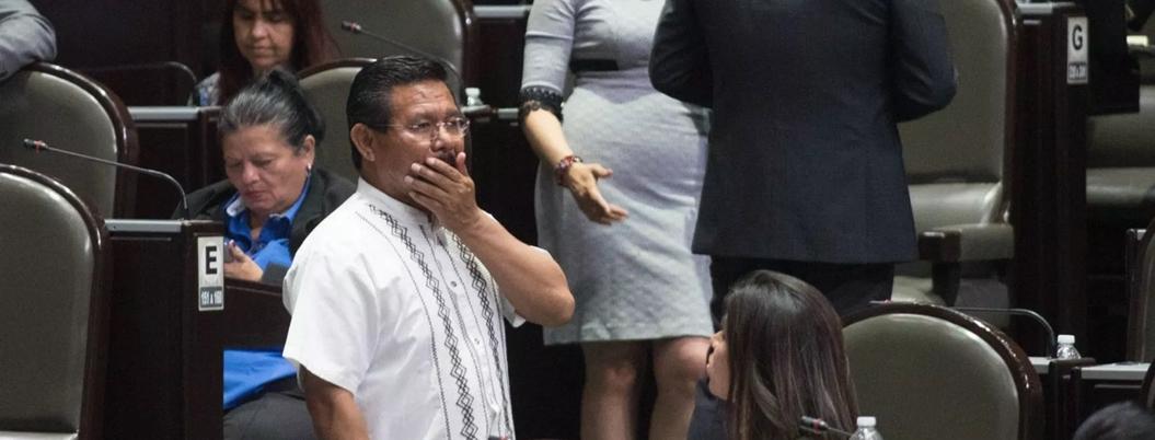 Cipriano Charrez, diputado de Morena, pierde el fuero