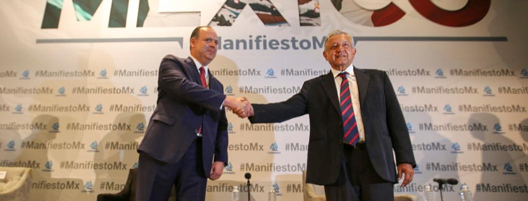 """""""AMLO va de equivocación en equivocación"""", reprocha Coparmex"""