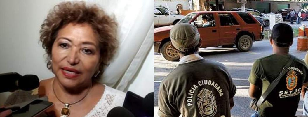 """""""Seguridad de Acapulco no le compete a la UPOEG"""": Adela Román"""