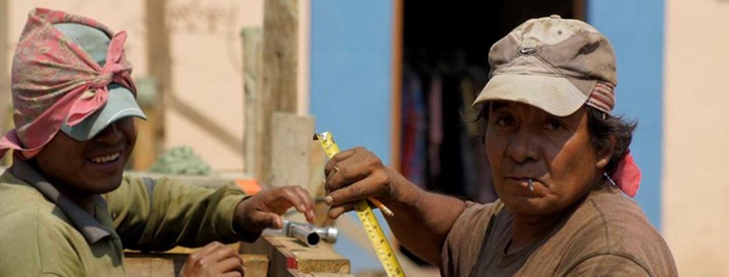 """""""Ser albañil es importante en el negocio de la construcción"""", cuenta"""
