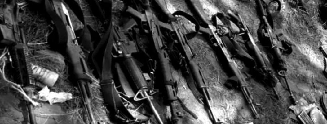 FGR asegura arsenal de 70 mil cartuchos y droga tras cateo en Sonora