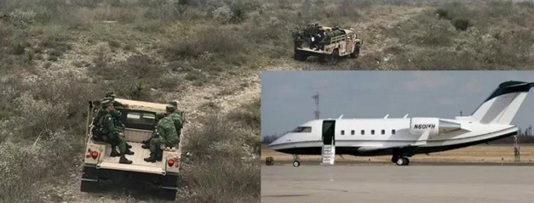 Avionazo deja 14 muertos en Coahuila