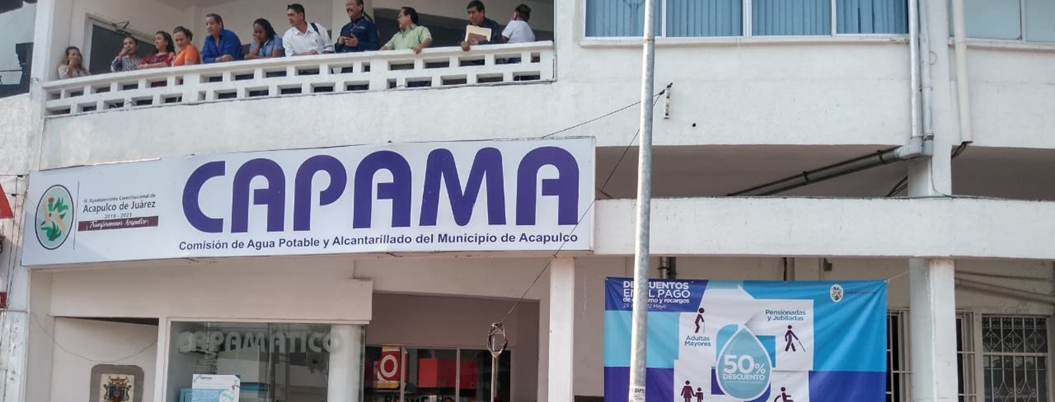 Habitantes de San Agustín toman oficinas de la CAPAMA