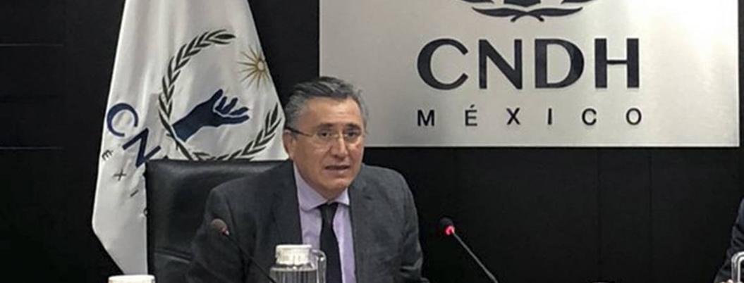 Recomendación no viola derechos, los defiende, revira CNDH a AMLO