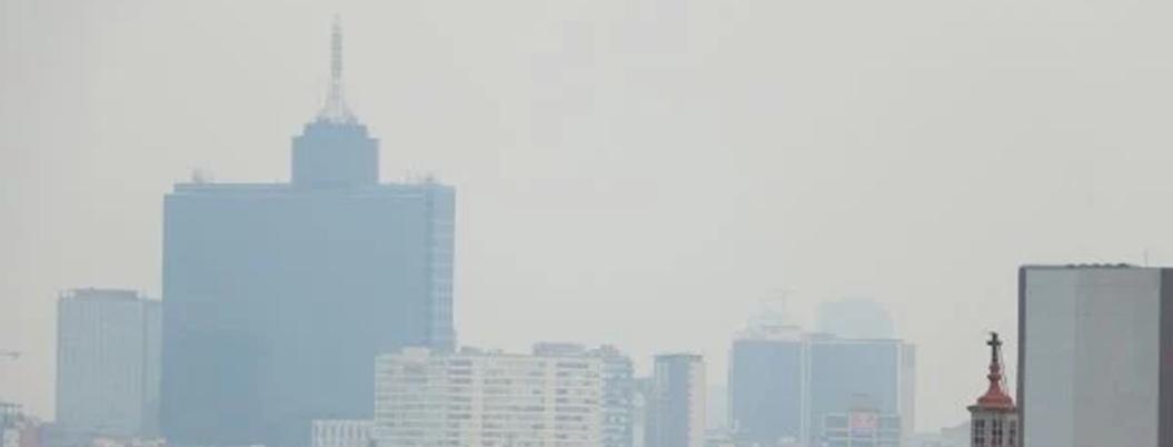 CDMX está repleta de PM2.5; registra 120 puntos de partículas