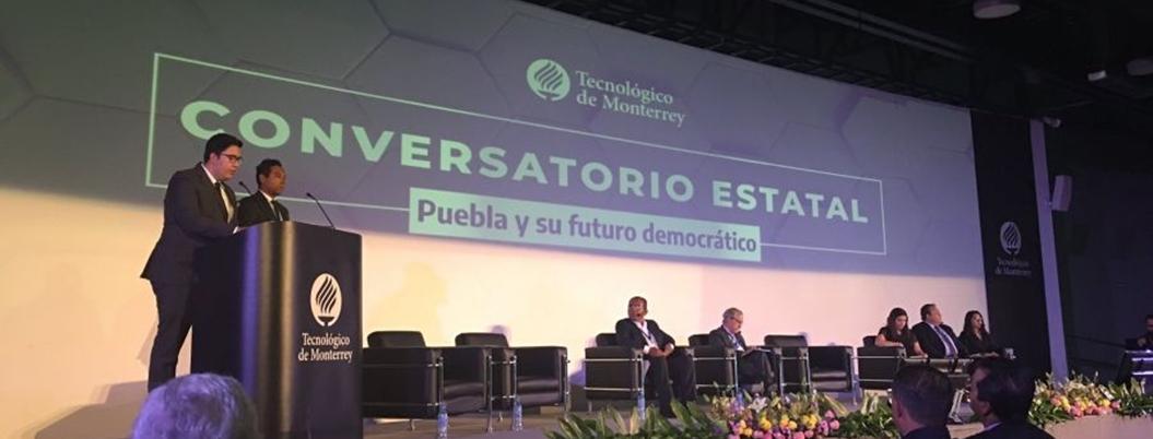 Candidatos del PRI y el PAN piden seguridad para Puebla
