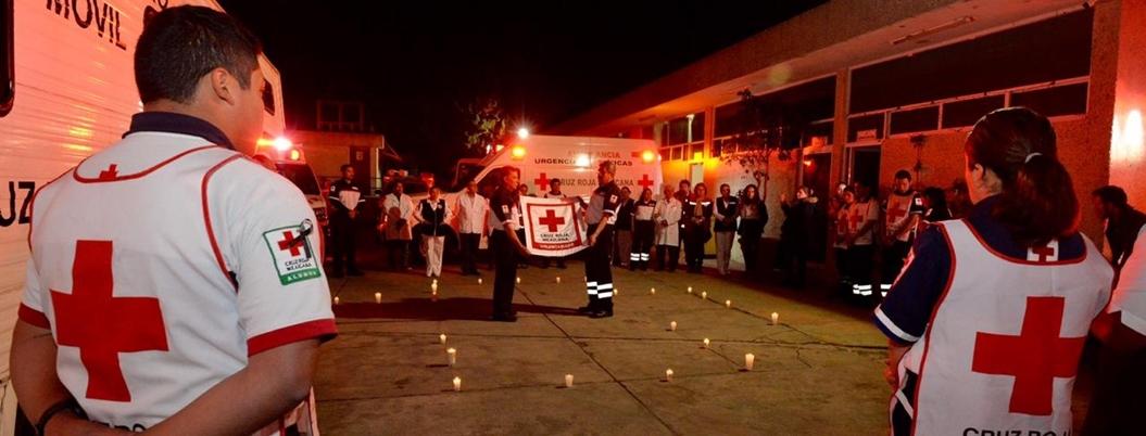 Cruz Roja, el altruismo en medio de las balas de México